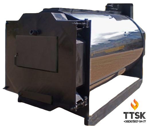 Промышленный жаротрубный стальной твердотопливный котел BS-SF УЕ14 мощностью 3150квт, 3,15МВТ