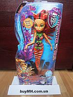 Кукла Торалей Страйп Большой скарьерный риф Monster High Great Scarrier Reef Glowsome Ghoulfish Toralei