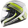 """Шлем MT IMOLA II OVERCOME matt white\yellow fluo """"XL"""", арт. 10872471"""
