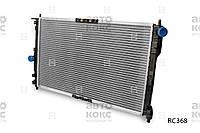 Радиатор охлаждения на Daewoo Lanos Пр-во Hola.