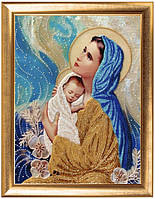 Набор для вышивки бисером Мать и дитя 477
