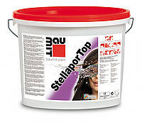 """Штукатурка силикон-силикатная 1,5K """"барашек""""  Baumit Stellapor Top, зерно 1,5мм, 25кг"""