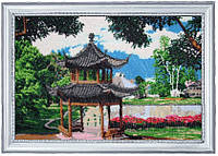 Набор для вышивки бисером Китайский садик 328