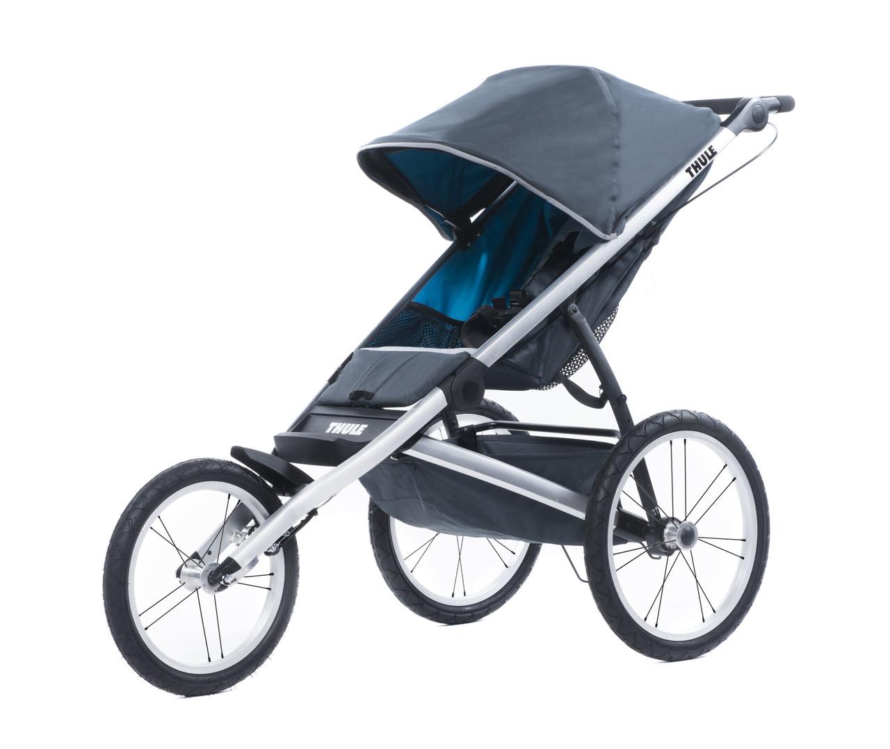 THULE Glide 1 - прогулочная коляска для бега (цвет Dark Shadow)