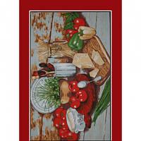 Ткань полотенечная/салфеточная арт.110953 (ТИР) НАБ. 3813/6881 150СМ