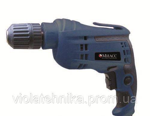 Дрель электрическая МИАСС ДЭ 850 (10 патрон самозажимной), фото 2