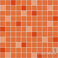 Плитка для ванной Ragno Плитка керамическая мозаика для стен Ragno Smart MOSAICO ORANGE R30G