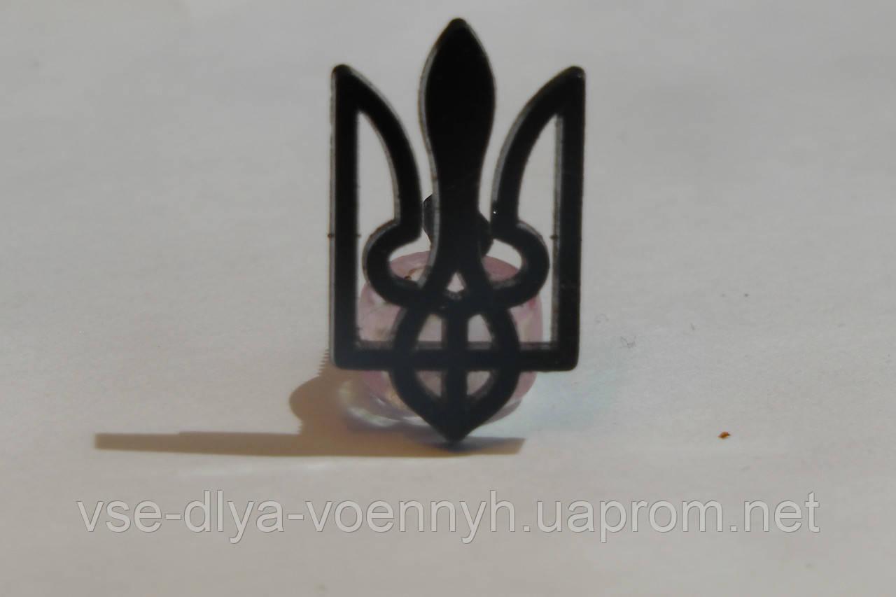 Емблема тризуб, хакі