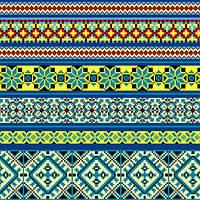 Ткань полотенечная вафельная набивная арт.130894 (ЗИН) 1214-2 40СМ