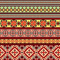 Ткань полотенечная вафельная набивная арт.123245 (ЗИН) 1214 40СМ