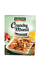 Мюсли Crownfield Crunchy Muesli Mixed Fruit 600g.