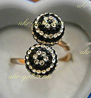 Кольцо женское с Кристаллами Сваровски