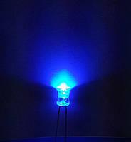 Светодиоды 5 мм 100 º синие, фото 1