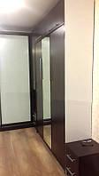 Шкаф-кровать с зеркальным фасадом, фото 1