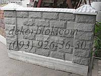 Декоративные блоки для заборов , фото 1