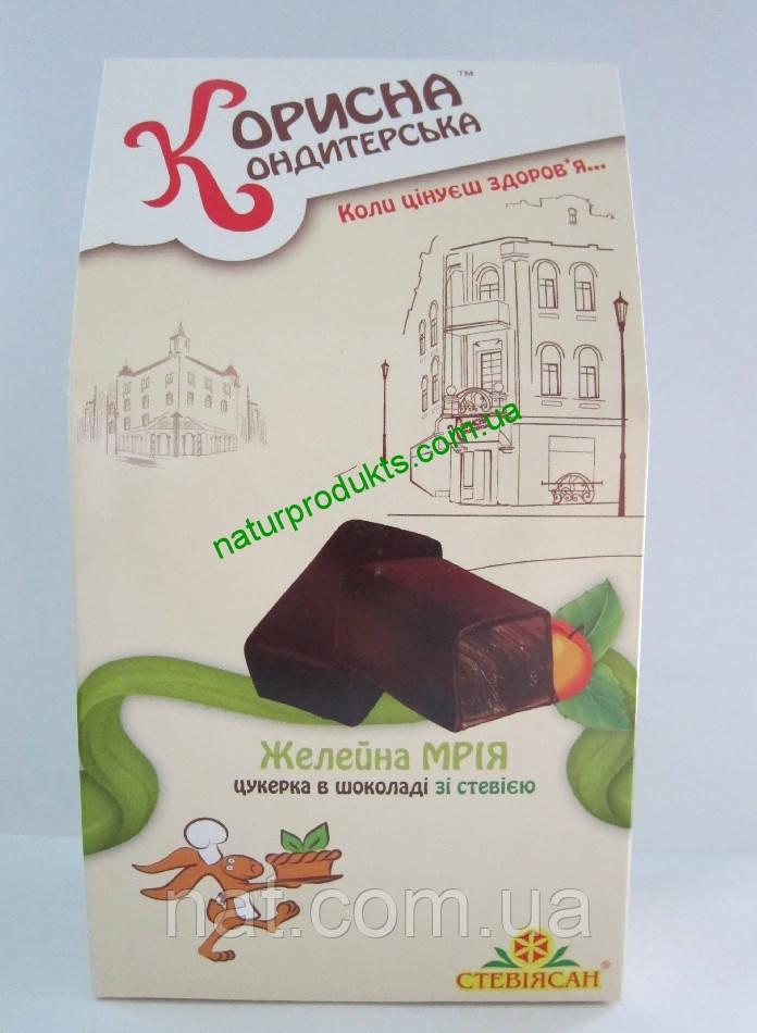 Желейная мечта (мармелад в шоколаде со стевией)
