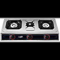 Настольная газовая плита, таганок ST 63- 010 -14  На три конфорки