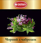 Чай чёрный с чабрецом GEMINI 250 г