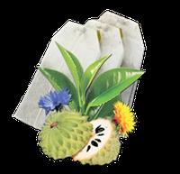 Чай Саусеп блек в пакетиках GEMINI 25 пак по 2 г