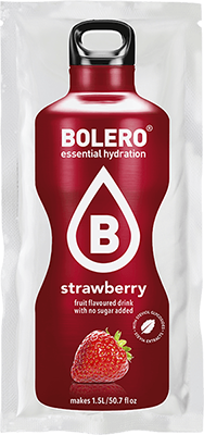 Bolero Drinks без сахара КЛУБНИКА