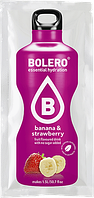 Bolero Drinks без сахара БАНАН - КЛУБНИКА