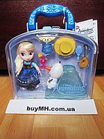 Кукла Эльза Elsa 13 см Дисней из коллекции Disney Animators mini оригинал