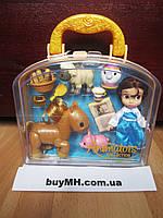 Кукла Бель Belle 13 см Дисней из коллекции Disney Animators mini оригинал, фото 1