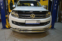 Защита переднего бампера VW Amarok, фото 1