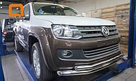 Двойная защита бампера VW Amarok, фото 1