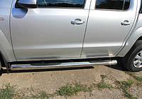Пороги труба VW Amarok, фото 1