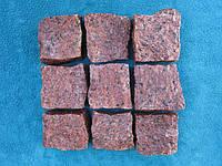 Брусчатка Лезники (красная) колотая 10х10х5