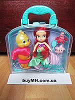 Кукла Ариель Ariel 13 см Дисней из коллекции Disney Animators mini оригинал