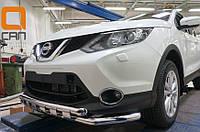 Защита бампера Nissan Qashqai 2014+, фото 1