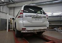 Защита заднего бампера LC Prado 150
