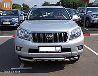 Защита переднего бампера Toyota Prado 150 2009+, фото 1