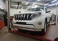 Защита переднего бампера Toyota Land Cruiser Prado 150 2014+, фото 1
