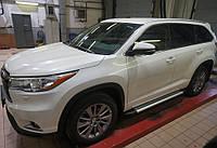 Пороги Brillant для Toyota Highlander 2014+, фото 1