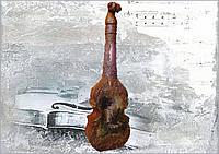 Подарочная бутылка Под музыку Вивальди Подарок музыканту скрипачу на новый год