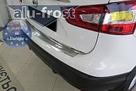 Накладка на бампер Alufrost для Nissan Qashqai II 2014+, фото 1