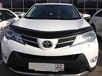 Дефлектор капота Toyota Rav 4 2013+, фото 1