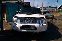 Дефлектор капота для Nissan NP300, фото 1