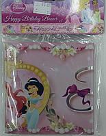 "Баннер Happу birthday ""Принцеси"""