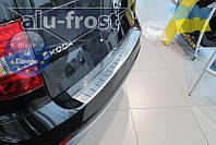 Накладка на бампер Alufrost  для Skoda Yeti 2014+