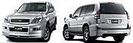 Обвес Toyota Land Cruiser Prado 120