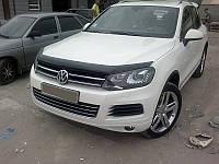 Дефлектор капота SIM для Volkswagen Touareg 2010+, фото 1