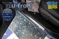 Накладки на пороги Alufrost для Subaru Forester 2013+, фото 1
