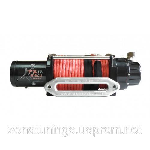Лебедка XTR 12000 SPEED с синтетическим тросом, фото 1