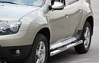 Пороги труба Renault Duster