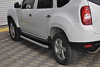 Алюминиевая подножка Renault Duster