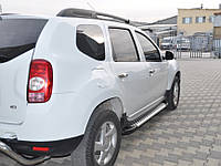 Пороги BMW стиль Dacia Duster